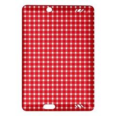 Pattern Diamonds Box Red Amazon Kindle Fire Hd (2013) Hardshell Case
