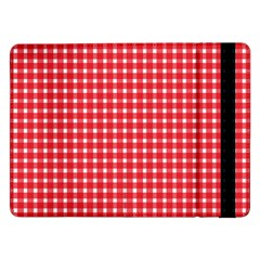 Pattern Diamonds Box Red Samsung Galaxy Tab Pro 12 2  Flip Case by Nexatart