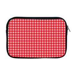 Pattern Diamonds Box Red Apple Macbook Pro 17  Zipper Case by Nexatart