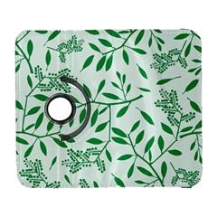 Leaves Foliage Green Wallpaper Galaxy S3 (flip/folio)