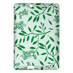 Leaves Foliage Green Wallpaper Amazon Kindle Fire Hd (2013) Hardshell Case