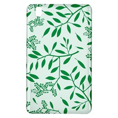Leaves Foliage Green Wallpaper Samsung Galaxy Tab Pro 8 4 Hardshell Case by Nexatart