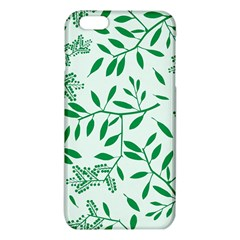 Leaves Foliage Green Wallpaper Iphone 6 Plus/6s Plus Tpu Case by Nexatart