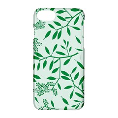 Leaves Foliage Green Wallpaper Apple Iphone 7 Hardshell Case