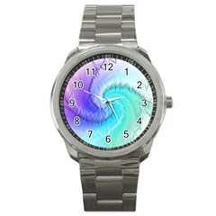 Background Colorful Scrapbook Paper Sport Metal Watch by Nexatart