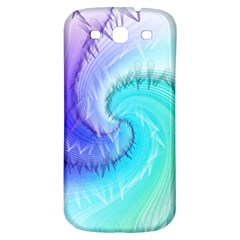Background Colorful Scrapbook Paper Samsung Galaxy S3 S Iii Classic Hardshell Back Case by Nexatart