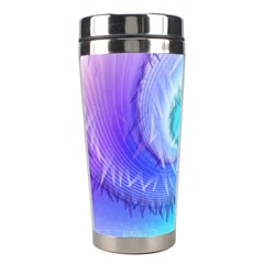 Background Colorful Scrapbook Paper Stainless Steel Travel Tumblers by Nexatart