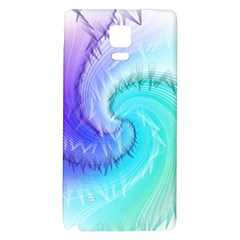 Background Colorful Scrapbook Paper Galaxy Note 4 Back Case by Nexatart