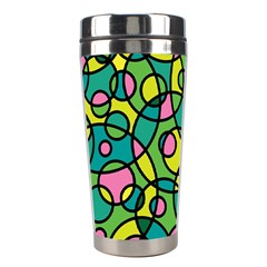 Circle Background Background Texture Stainless Steel Travel Tumblers by Nexatart