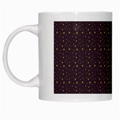 Pattern Background Star White Mugs by Nexatart