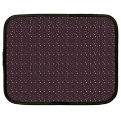 Pattern Background Star Netbook Case (large)