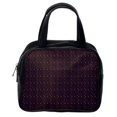 Pattern Background Star Classic Handbags (one Side)