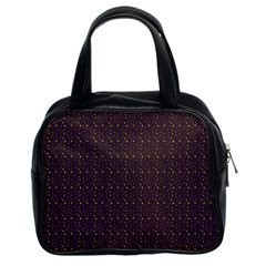 Pattern Background Star Classic Handbags (2 Sides)