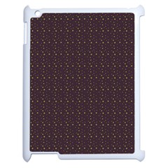 Pattern Background Star Apple Ipad 2 Case (white) by Nexatart