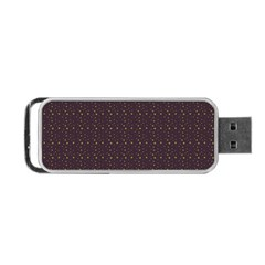 Pattern Background Star Portable Usb Flash (two Sides) by Nexatart