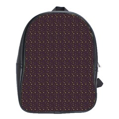 Pattern Background Star School Bags (xl)