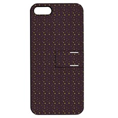 Pattern Background Star Apple Iphone 5 Hardshell Case With Stand by Nexatart