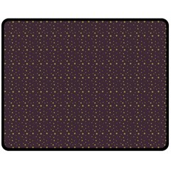 Pattern Background Star Double Sided Fleece Blanket (medium)