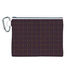 Pattern Background Star Canvas Cosmetic Bag (l) by Nexatart