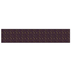 Pattern Background Star Flano Scarf (small)