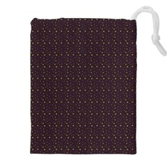 Pattern Background Star Drawstring Pouches (xxl)