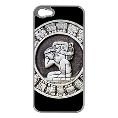 Pattern Motif Decor Apple Iphone 5 Case (silver)