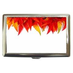 Abstract Autumn Background Bright Cigarette Money Cases
