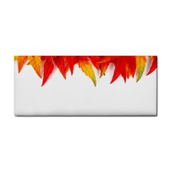 Abstract Autumn Background Bright Cosmetic Storage Cases by Nexatart