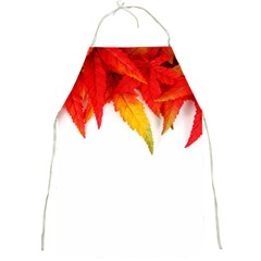 Abstract Autumn Background Bright Full Print Aprons