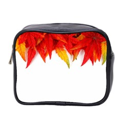 Abstract Autumn Background Bright Mini Toiletries Bag 2 Side by Nexatart