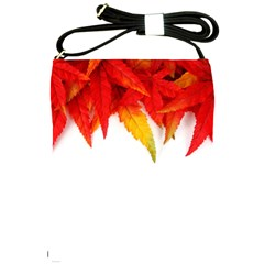 Abstract Autumn Background Bright Shoulder Sling Bags by Nexatart