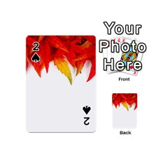 Abstract Autumn Background Bright Playing Cards 54 (mini)