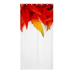 Abstract Autumn Background Bright Shower Curtain 36  X 72  (stall)  by Nexatart