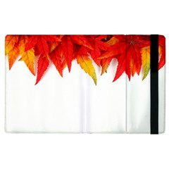 Abstract Autumn Background Bright Apple Ipad 2 Flip Case by Nexatart
