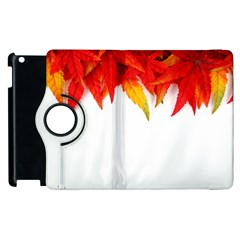 Abstract Autumn Background Bright Apple Ipad 2 Flip 360 Case by Nexatart