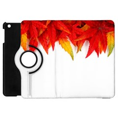 Abstract Autumn Background Bright Apple Ipad Mini Flip 360 Case by Nexatart