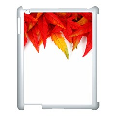 Abstract Autumn Background Bright Apple Ipad 3/4 Case (white) by Nexatart