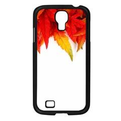 Abstract Autumn Background Bright Samsung Galaxy S4 I9500/ I9505 Case (black) by Nexatart