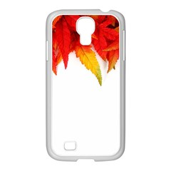Abstract Autumn Background Bright Samsung Galaxy S4 I9500/ I9505 Case (white) by Nexatart