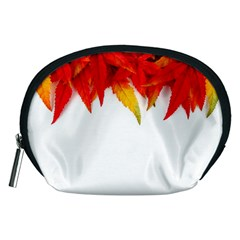 Abstract Autumn Background Bright Accessory Pouches (medium)  by Nexatart