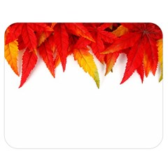 Abstract Autumn Background Bright Double Sided Flano Blanket (medium)