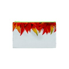 Abstract Autumn Background Bright Cosmetic Bag (xs)