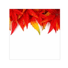 Abstract Autumn Background Bright Small Satin Scarf (square) by Nexatart