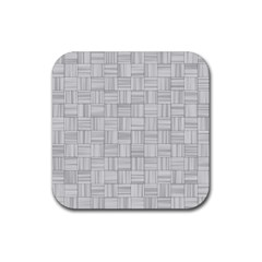 Flooring Household Pattern Rubber Square Coaster (4 Pack)