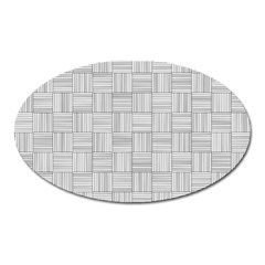 Flooring Household Pattern Oval Magnet