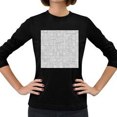 Flooring Household Pattern Women s Long Sleeve Dark T Shirts