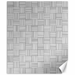 Flooring Household Pattern Canvas 8  X 10  by Nexatart
