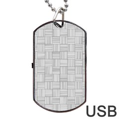 Flooring Household Pattern Dog Tag Usb Flash (two Sides)