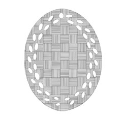 Flooring Household Pattern Oval Filigree Ornament (two Sides) by Nexatart