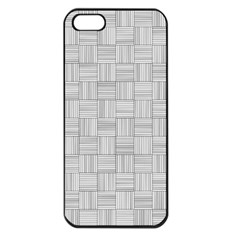 Flooring Household Pattern Apple Iphone 5 Seamless Case (black)